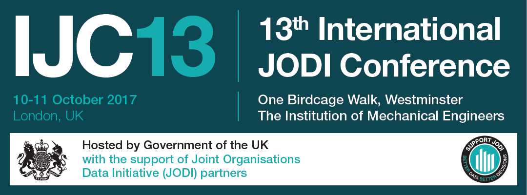 13th International JODI Conference ad banner