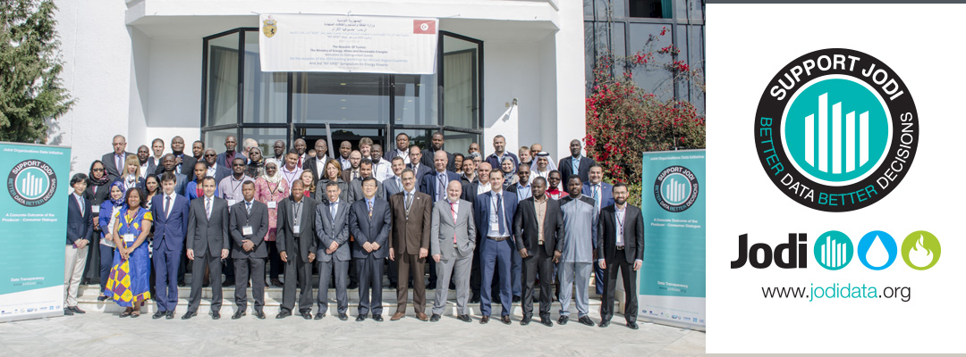15th Regional JODI Training Workshop for African Countries group photo