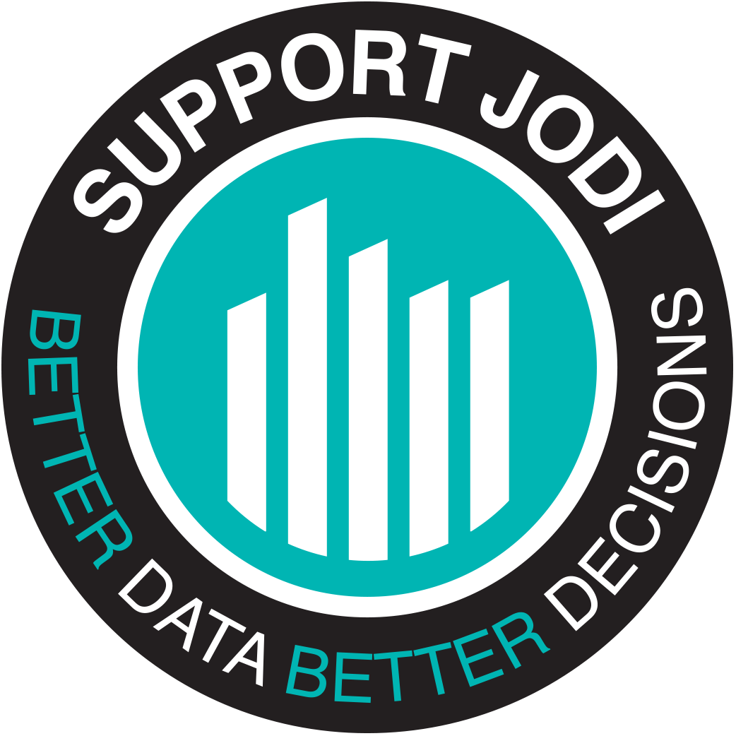 Support JODI Logo